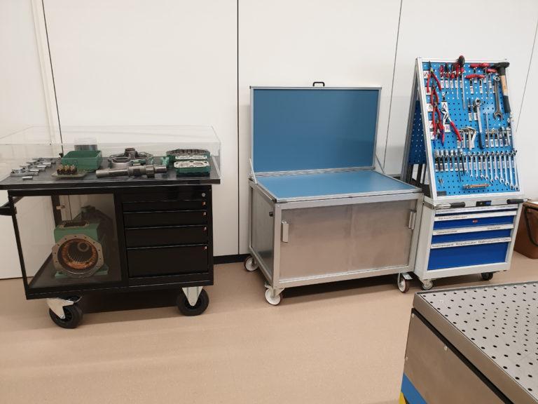 Εργαστήριο επισκευής συμπιεστών και δοχείων πίεσης